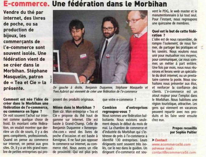 Article de presse locale - 2010